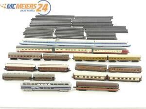 E296 Altas N 16x Standmodell Triebwagenzug + verschiedene Personenwagen