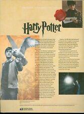 #4825-44 Forever Harry Potter Folio of 20 USPS #928 Commemorative Stamp Panel