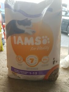 IAMS for Vitality Kitten Food with Fresh chicken   Cats 10kg