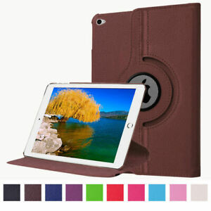 Luxury PU Leather Smart Cover 360 Ratating Holder Case For Apple iPad Mini 1 2 3