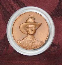 1999 72nd Birthday King Bhumibol Adulyadej Rama 9 Medal Amulet Thailand Thai Hat