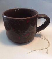 Starbucks Coffee Cup/Mug Brown 2009 10 oz Brew Barista Shop Home Kitchen Drink