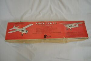 Vintage Sterling Models PIPER CUB J-3 Model Airplane Kit R/C, Control Line