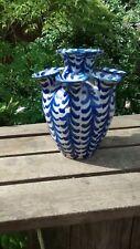 Antique / Vintage Blue and White Delft Vase