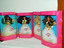 1990 Summit Barbie Complete Set Of 4: 7027, 7028, 7029, 7030
