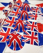 UNION JACK DECORATIONS PARTY WARE FLAGS BUNTING HATS TABLEWARE WW1 COMMEMORATION