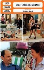 FICHE CINEMA : UNE FEMME DE MENAGE - Bacri,Dequenne,Berri 2002 The House Keeper