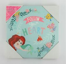NEW Artissimo Designs Disney Princess Ariel 'Follow Your Heart' Felt Wall Art