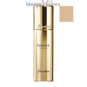 Guerlain Parure Gold Radiance Foundation SPF30 01 Pale Beige 1oz / 30ml NIB
