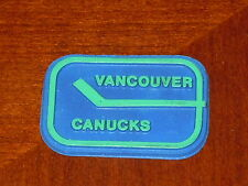 VANCOUVER CANUCKS Vintage Old NHL RUBBER Hockey FRIDGE MAGNET Standings Board