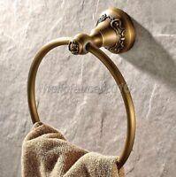 Antique Brass Wall Mount Towel Ring Towel Holder Bathroom Accessories lba002-5