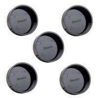 5pcs Rear Lens Cap Cover for Leica L39 M39 39mm Screw Mount Black Wholesales