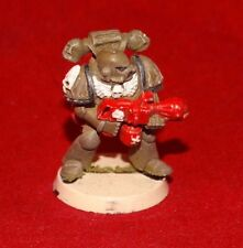 Warhammer 40k Space Marine Legion Of The Damned With Flamer First Version Metal