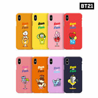 BTS BT21 Official Authentic Goods Color Soft Jelly Case Sun and Fun Series