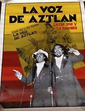 """LITTLE JOE Y LA FAMILIA LA VOZ DE AZTLAN LEONA TEJANO POSTER 17"""" x 22"""""""