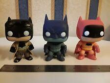 3 X Funko Pops Batman vinyl figures  E