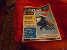 CALCIO  RIVISTA  INTER  FOOTBALL  CLUB  NR 12  DICEMBRE  1972  GIOCO  NO  POSTER