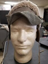 Winter wool forage cap from Swedish army