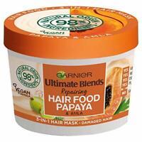 Garnier Ultimate Blends Hair Food Papaya 3-in-1 Damaged Hair Mask Treatment 390m