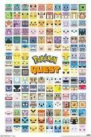Pokemon - Quest Grid