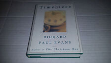 Timepiece by Richard Paul Evans (1996, Hardcover) SIGNED 1st/1st