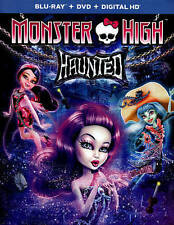 Monster High: Haunted (Blu-ray/DVD + Digital HD) NEW/SEALED w slipcover