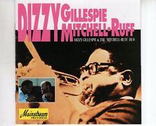 CD DIZZY GILLESPIE & THE MITCHELL-RUFF DUOs/tEX+ 1993 (B3639)