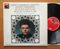 ASD 2424 Mozart Symphonies 39 & 40 Daniel Barenboim ECO 1968 NEAR MINT
