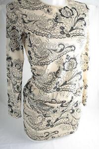 Bebaroque ~ BETTY ~ bodycon tattoo print dress Used - Xsmall UK 6/8