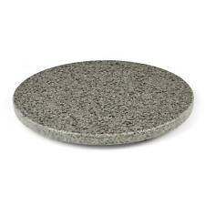 Homiu Granite Chopping Board Round Easy Clean Hard-Wearing Speckle Finish