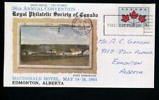 LOT 66233 CANADA COVER STAMP EVENTS ROYAL PHILATELIC SOCIETY EXHIBITION
