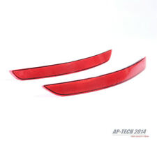 Right&Left Side Rear Bumper Bar Reflector Set For Audi A3