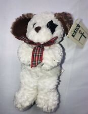 """First & Main Puppy Dog  Huggums 7"""" Plush With Tags"""