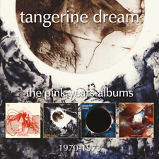 Tangerine Dream : The Pink Years Albums 1970-1973 CD Remastered Album 4 discs