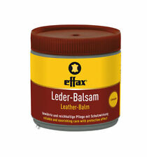 Effax Leather Balm Balsam Clear Saddles Stables Cars Lounge Horse Gear 500g