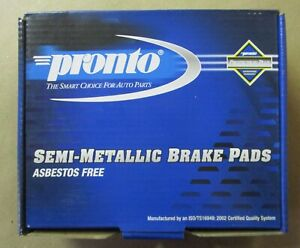 BRAND NEW PRONTO FRONT BRAKE PADS PMD956 / D956 FITS VEHICLES ON CHART