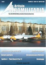 AIR-BRITAIN AEROMILITARIA 128 METEOR T.7_USAF SAC EUROPE_GLOSTER JAVELIN_BRAZIL