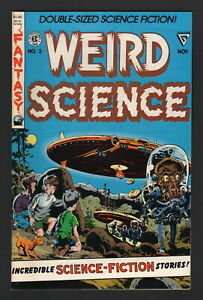 WEIRD SCIENCE #2, 1990, Gladstone Publishing, NM- CONDITION, DBL-SIZED SCI-FI