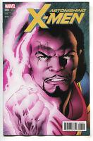 Astonishing X-Men 3 Marvel 2017 1:10 Alan Davis Character Variant Bishop