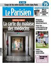 Le PARISIEN ( 75 )n° 22465 du 26/11/2016*Hôpital public*Dossier CHAUFFAGE*FILLON