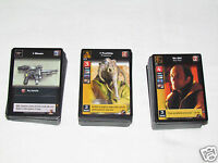 1999-2000 STAR WARS YOUNG JEDI Card Game Lot 306 Cards DECIPHER CCG Council Maul