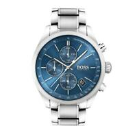 Men's Hugo Boss Blue/Silver Grand Prix Chronograph Watch HB1513478