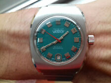 Vanroy DIVER 20 ATMOSPHERES AUTOMATIC 86906.1 VINTAGE COLLECTION SWISS NOS WATCH