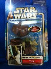 2002 Star Wars Saga #23 Yoda Jedi Master MOC Attack of the Clones