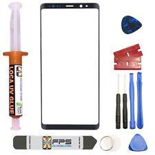 Samsung Galaxy Note 8 N950 OEM Black Glass Lens Screen Replacement Loca UV Glue