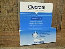Clearasil Stubborn Acne Control 5 in 1 Spot Treatment Cream 1 oz. (Pack Of 3)