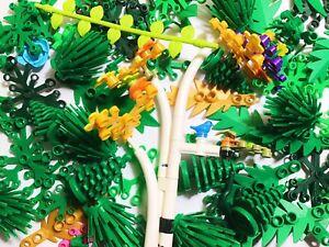 ☀️NEW! 35x LEGO Greenery Plant Lots Parts #trees, Leaves ,bushes~random~New~Part