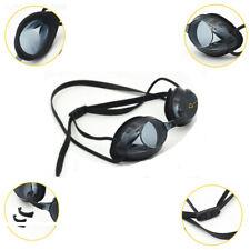 Swimming Goggles Anti Fog UV Protection Glasses Adjustable Adult Unisex Black