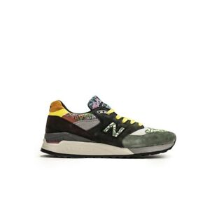 New Balance Made in USA 998 'Festival Pack' (olive/yellow) Men Shoes M998AWK