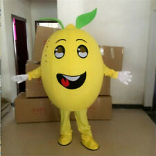 Lemon Fruit Mascot Costume Suit Cosplay Party Game Dress Outfit  Halloween Adult
